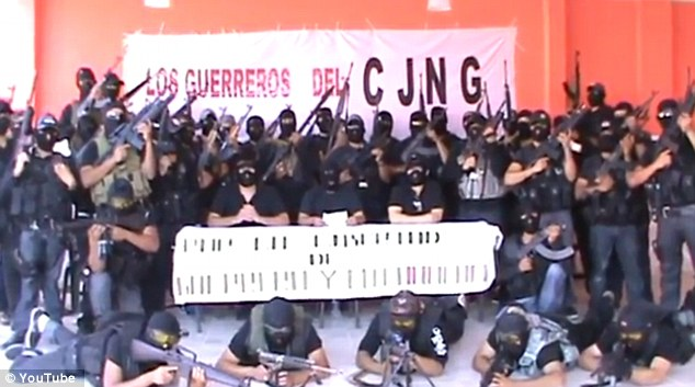 Drug traffickers from the Jalisco New Generation Cartel (CJNG) are known to operate in the area when six men were found dead